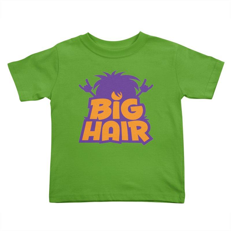 Big Hair Band Logo Kids Toddler T-Shirt by Fizzgig's Artist Shop