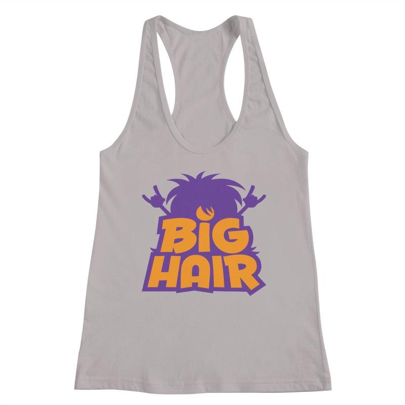 Big Hair Band Logo Women's Tank by Fizzgig's Artist Shop