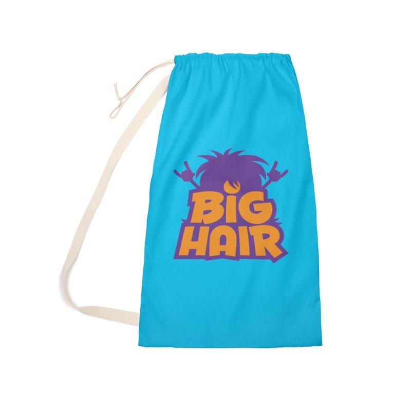 Big Hair Band Logo Accessories Bag by Fizzgig's Artist Shop