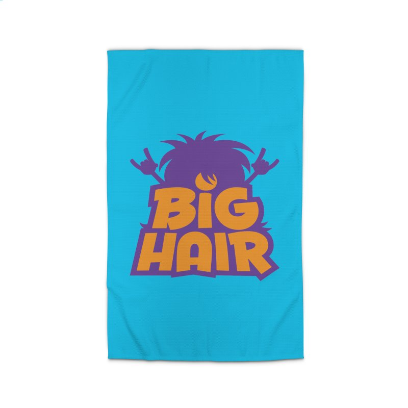 Big Hair Band Logo Home Rug by Fizzgig's Artist Shop