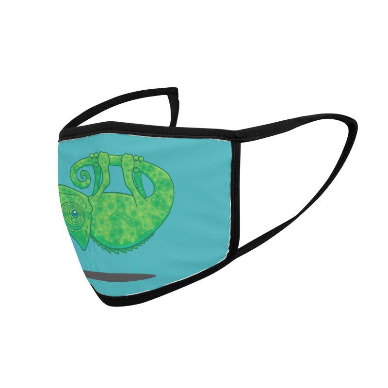 Magical Chameleon Accessories Face Mask by Fizzgig's Artist Shop