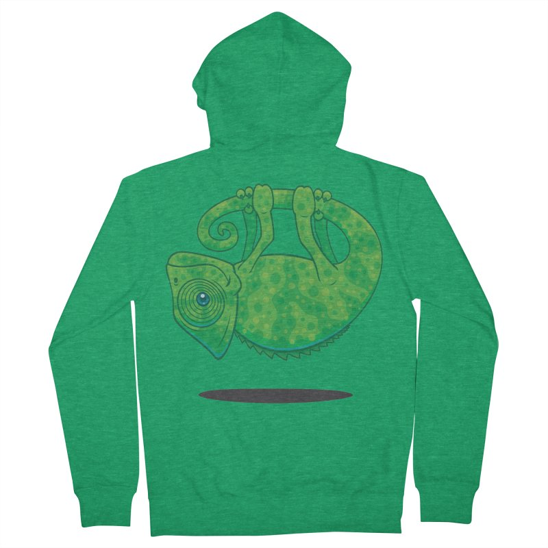 Magical Chameleon Women's Zip-Up Hoody by Fizzgig's Artist Shop