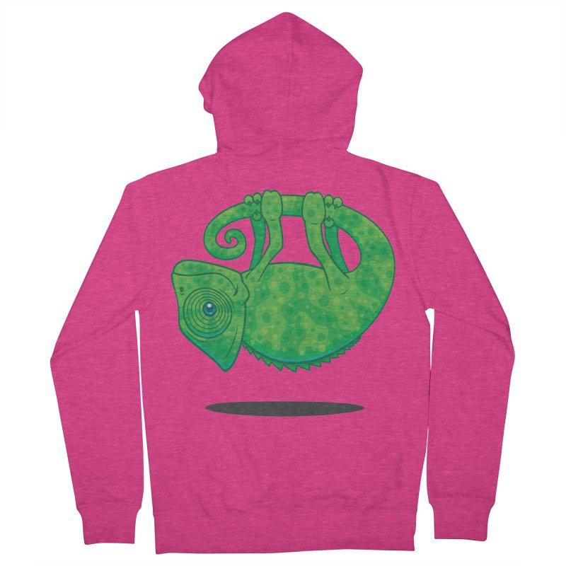 Magical Chameleon Women's Zip-Up Hoody by Fizzgig's Artist Shop