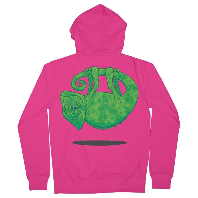 Magical Chameleon Men's Zip-Up Hoody by Fizzgig's Artist Shop