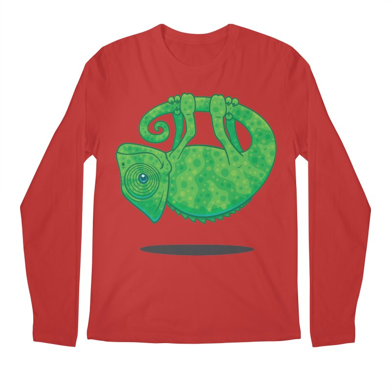 Magical Chameleon Men's Longsleeve T-Shirt by Fizzgig's Artist Shop