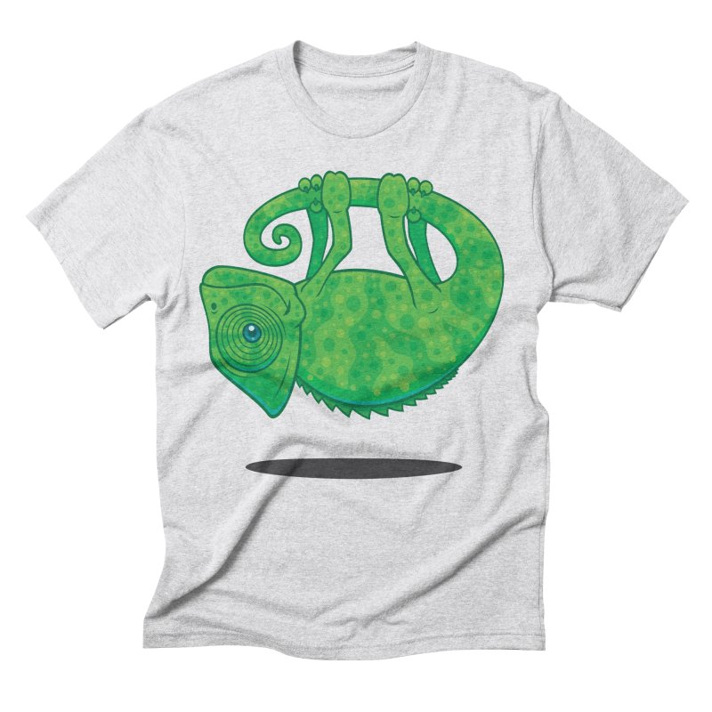 Magical Chameleon Men's Triblend T-shirt by Fizzgig's Artist Shop