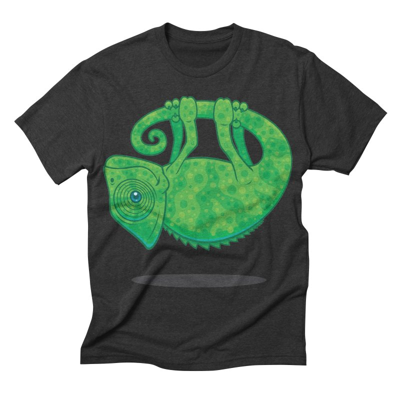 Magical Chameleon Men's Triblend T-shirt by Fizzgig's Artist Shop