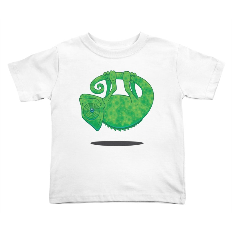 Magical Chameleon Kids Toddler T-Shirt by Fizzgig's Artist Shop