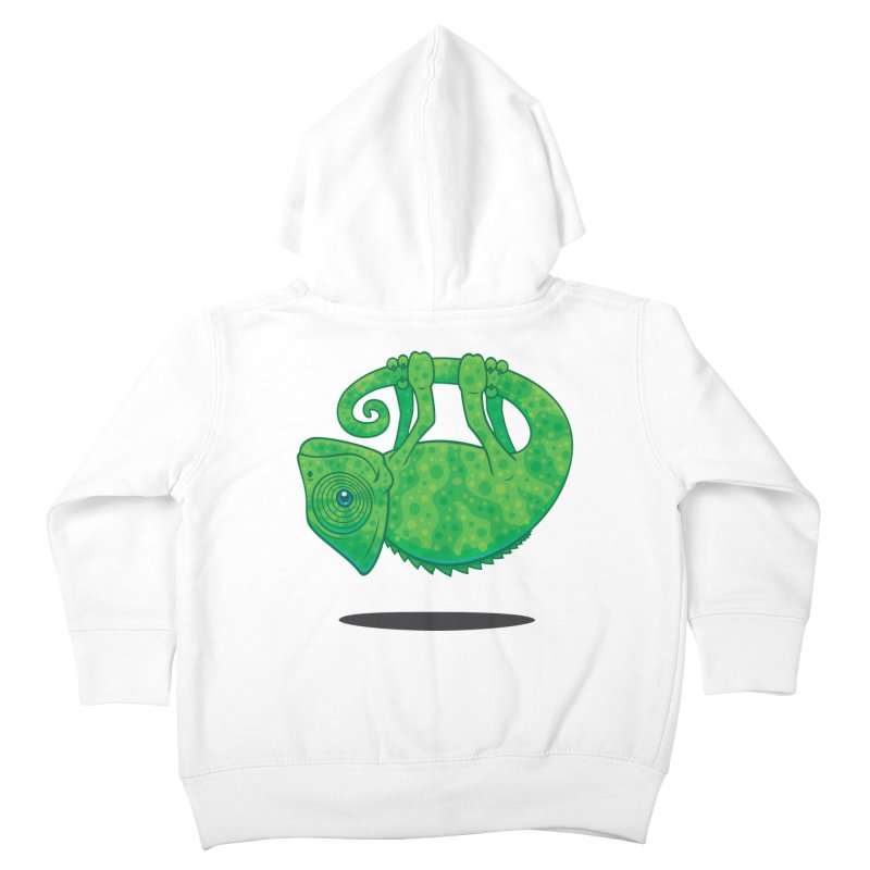 Magical Chameleon Kids Toddler Zip-Up Hoody by Fizzgig's Artist Shop
