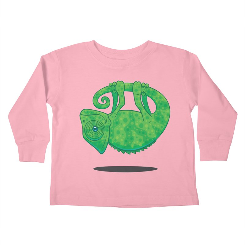 Magical Chameleon Kids Toddler Longsleeve T-Shirt by Fizzgig's Artist Shop