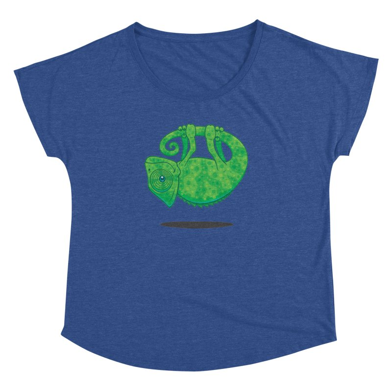 Magical Chameleon Women's Dolman by Fizzgig's Artist Shop