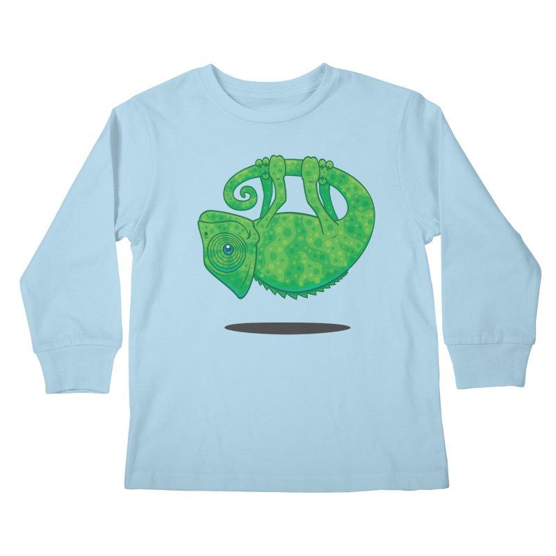 Magical Chameleon Kids Longsleeve T-Shirt by Fizzgig's Artist Shop