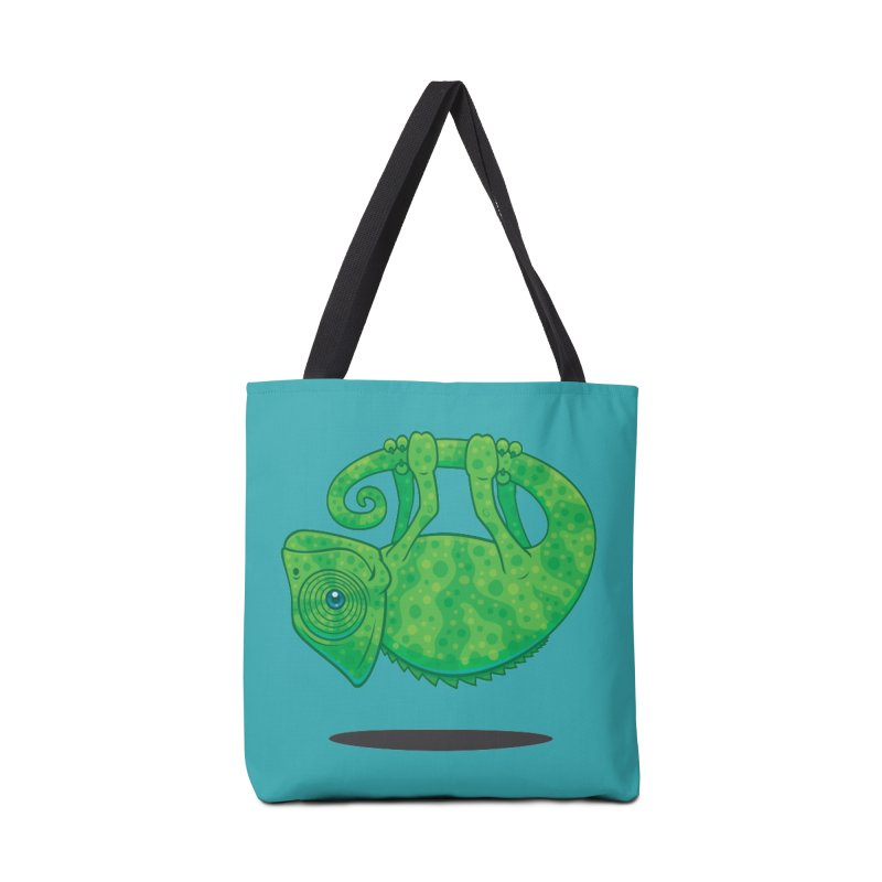 Magical Chameleon Accessories Bag by Fizzgig's Artist Shop