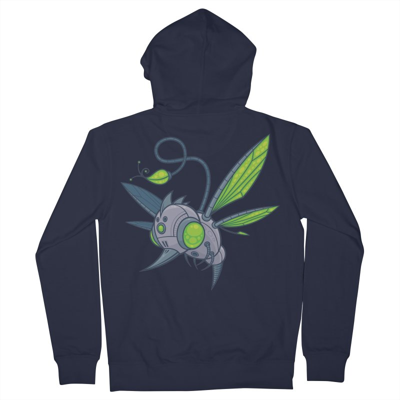 HUMM-BUZZ Women's Zip-Up Hoody by Fizzgig's Artist Shop