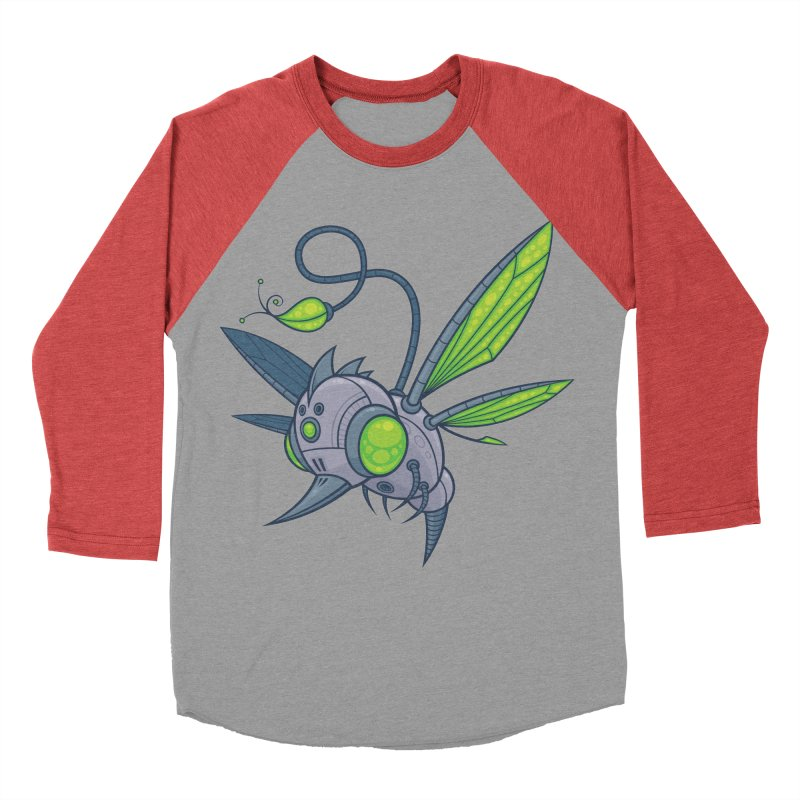 HUMM-BUZZ Women's Baseball Triblend T-Shirt by Fizzgig's Artist Shop