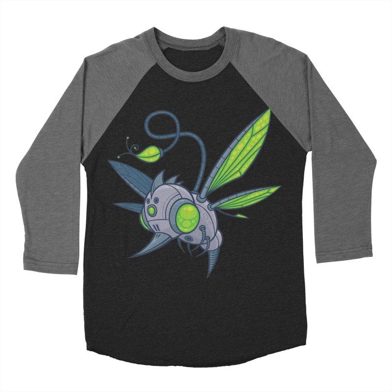 HUMM-BUZZ Women's Baseball Triblend T-Shirt by Fizzgig's Artist Shop