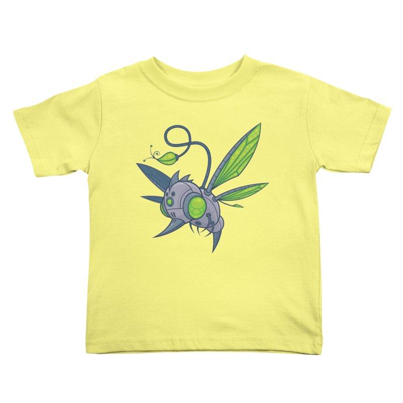 HUMM-BUZZ Kids Toddler T-Shirt by Fizzgig's Artist Shop