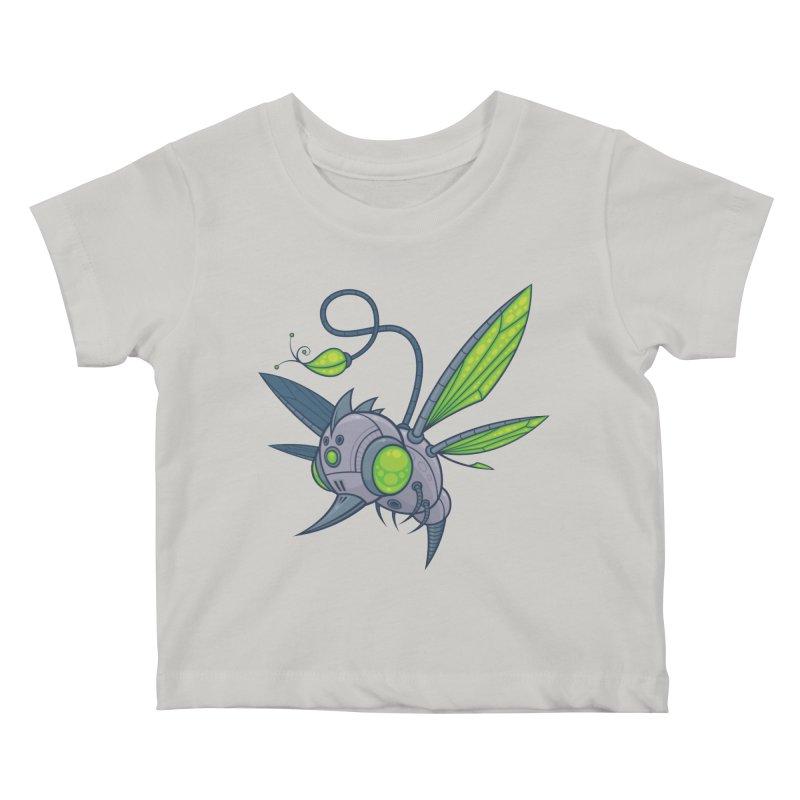 HUMM-BUZZ Kids Baby T-Shirt by Fizzgig's Artist Shop