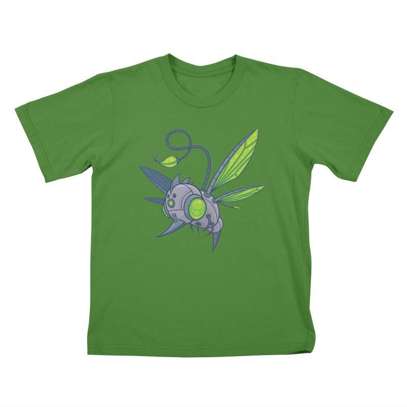 HUMM-BUZZ Kids T-Shirt by Fizzgig's Artist Shop