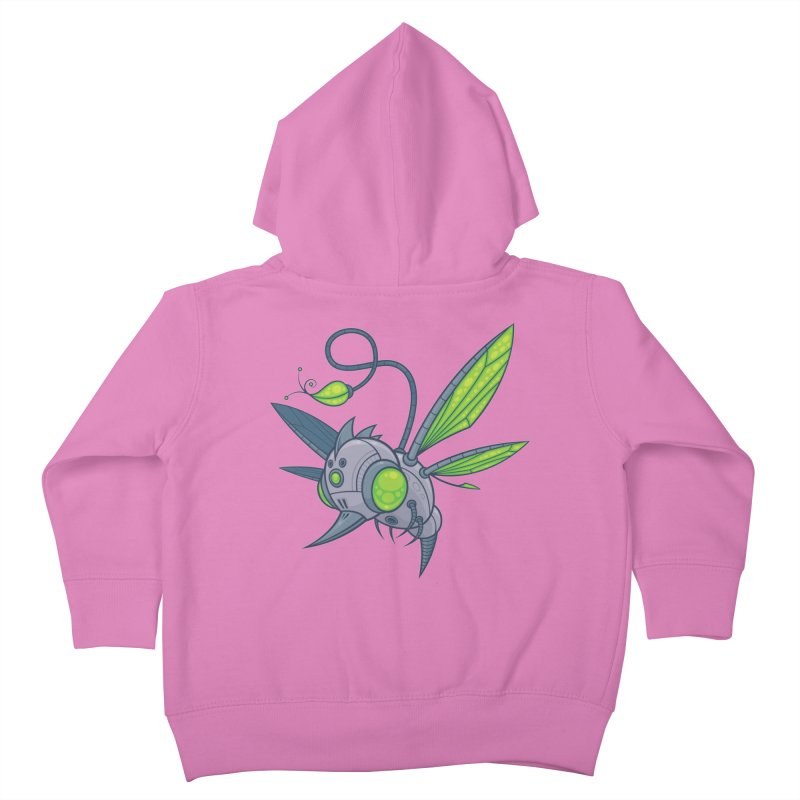 HUMM-BUZZ Kids Toddler Zip-Up Hoody by Fizzgig's Artist Shop
