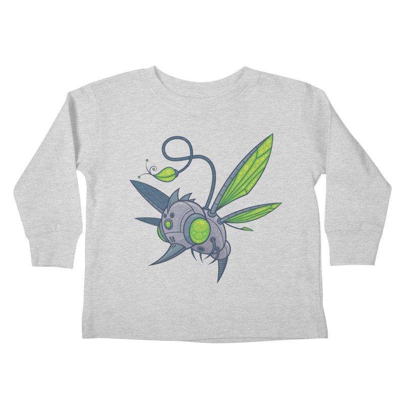 HUMM-BUZZ Kids Toddler Longsleeve T-Shirt by Fizzgig's Artist Shop