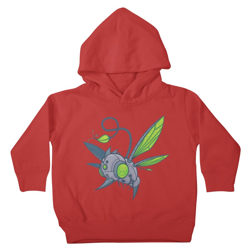 HUMM-BUZZ Kids Toddler Pullover Hoody by Fizzgig's Artist Shop