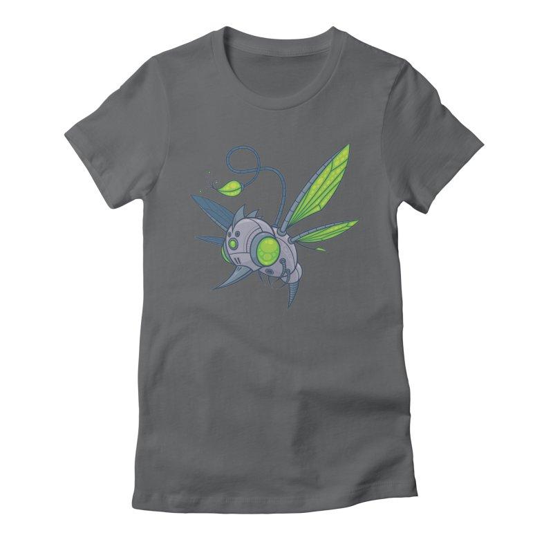 HUMM-BUZZ Women's Fitted T-Shirt by Fizzgig's Artist Shop