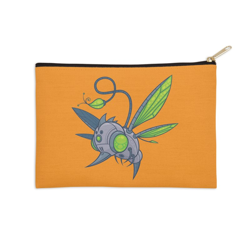 HUMM-BUZZ Accessories Zip Pouch by Fizzgig's Artist Shop
