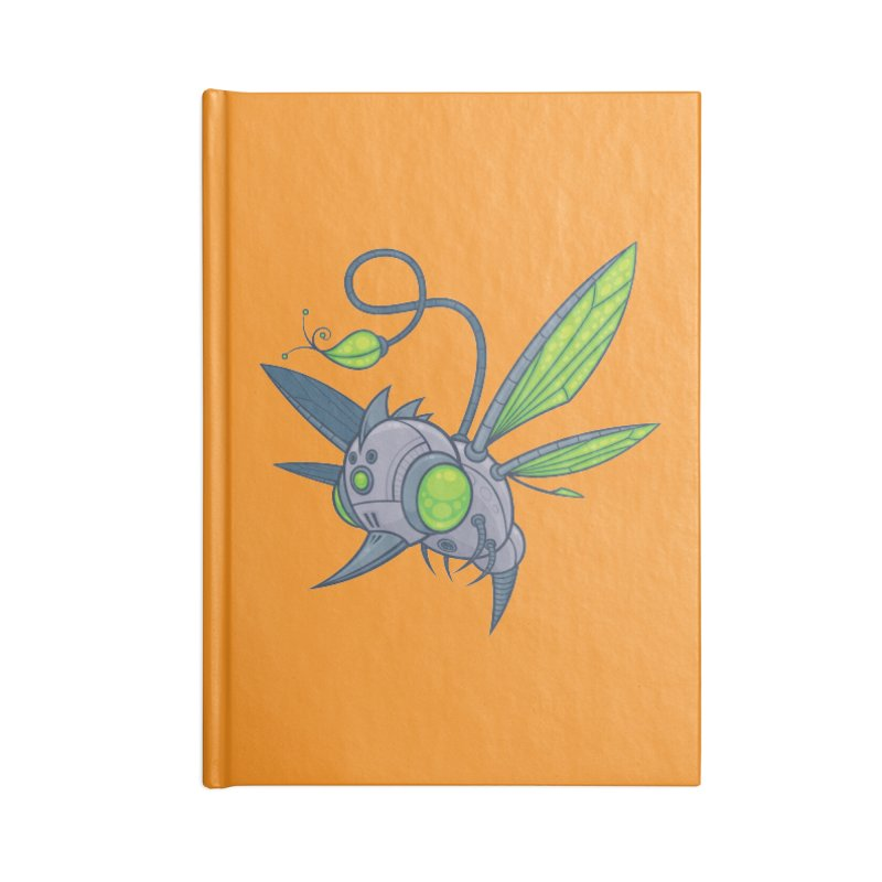 HUMM-BUZZ Accessories Notebook by Fizzgig's Artist Shop