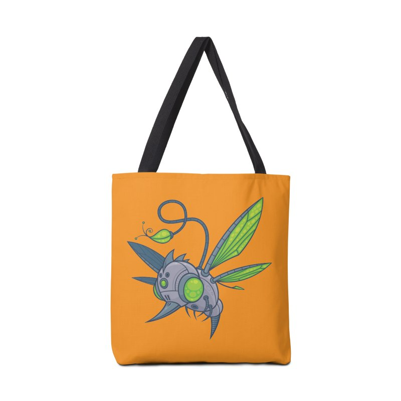 HUMM-BUZZ Accessories Bag by Fizzgig's Artist Shop