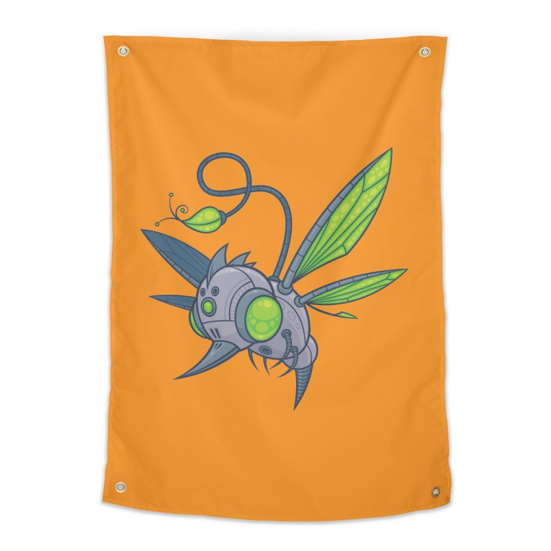 HUMM-BUZZ Home Tapestry by Fizzgig's Artist Shop