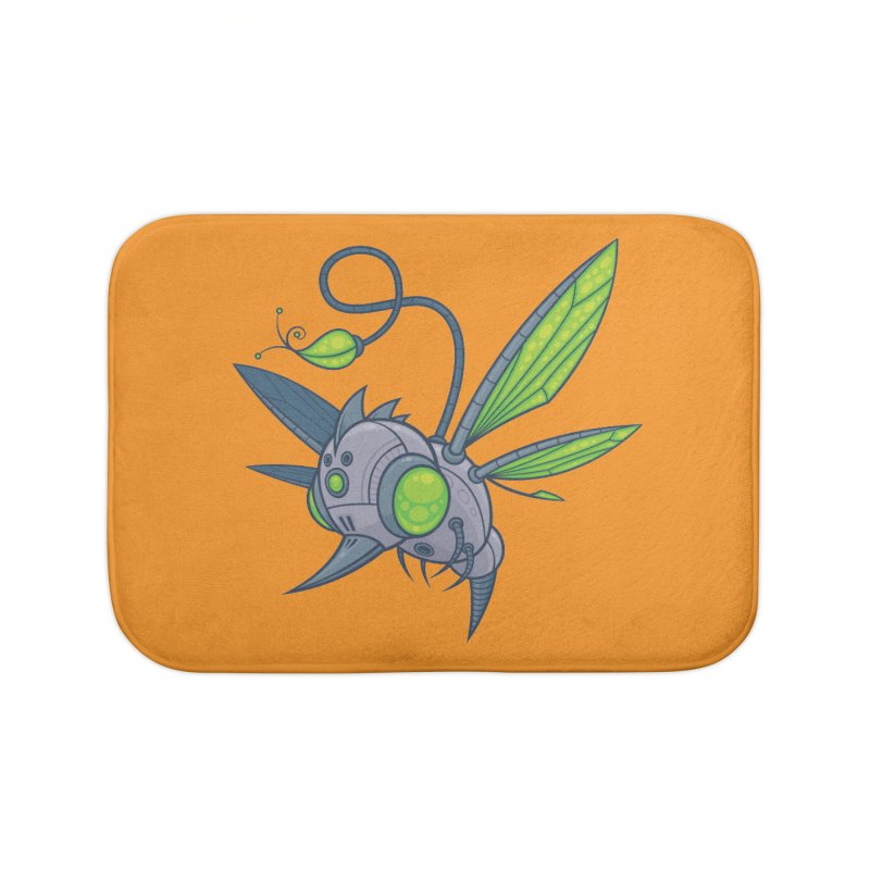 HUMM-BUZZ Home Bath Mat by Fizzgig's Artist Shop
