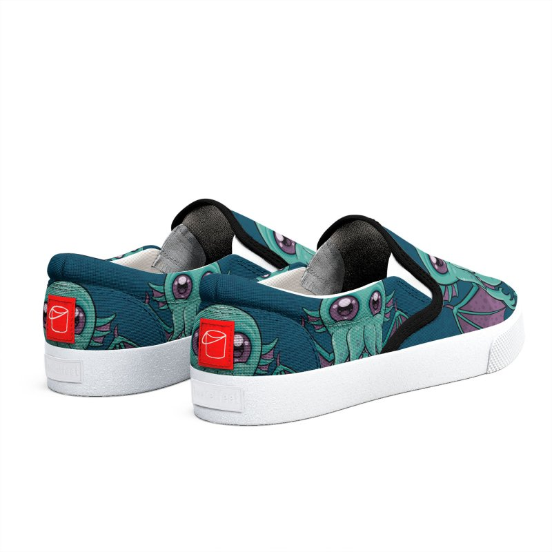Cute Baby Cthulhu Monster Women's Shoes by Fizzgig's Artist Shop