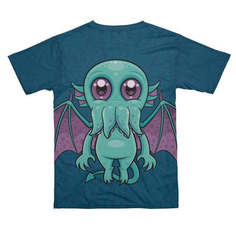 Cute Baby Cthulhu Monster Men's Cut & Sew by Fizzgig's Artist Shop