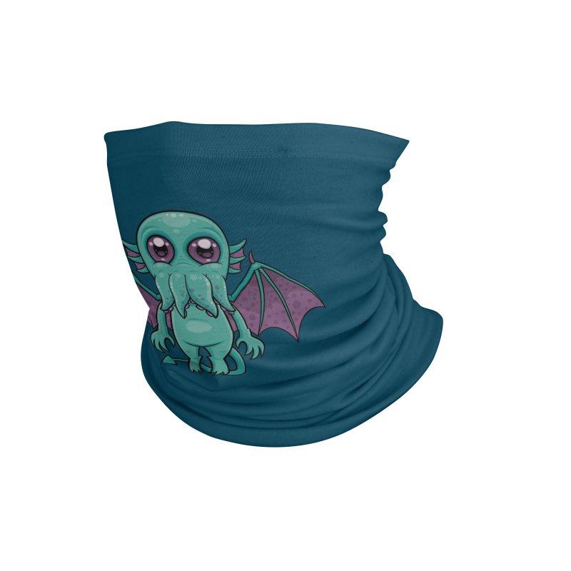 Cute Baby Cthulhu Monster Accessories Neck Gaiter by Fizzgig's Artist Shop