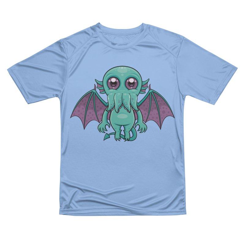Cute Baby Cthulhu Monster Women's T-Shirt by Fizzgig's Artist Shop