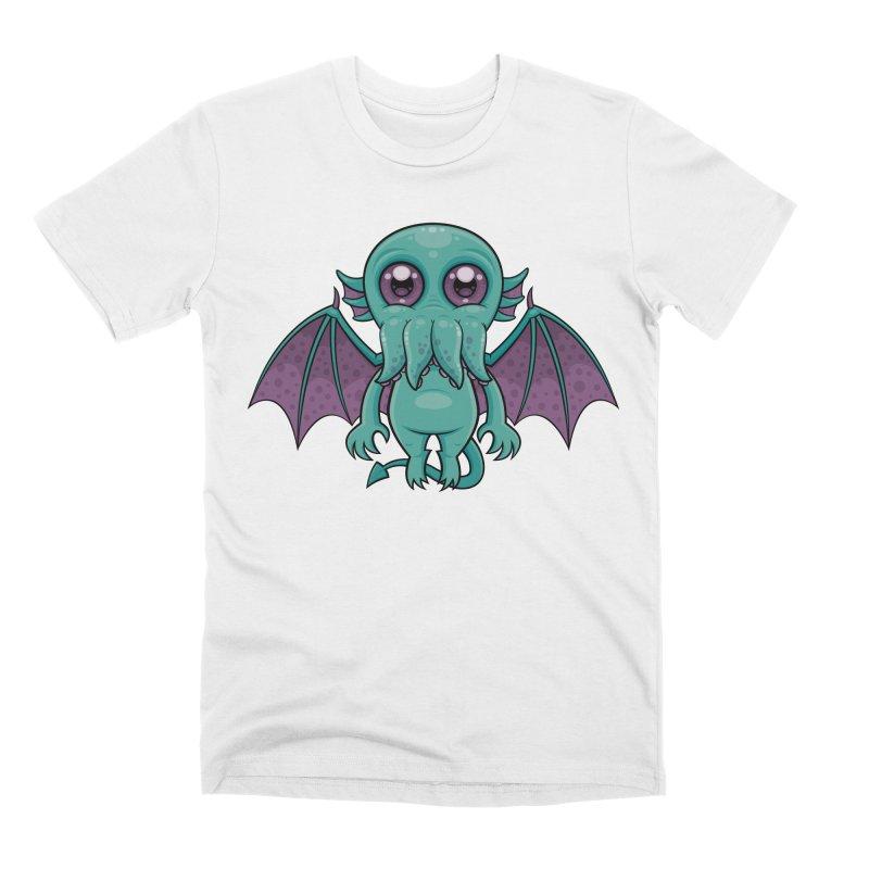 Cute Baby Cthulhu Monster Men's T-Shirt by Fizzgig's Artist Shop