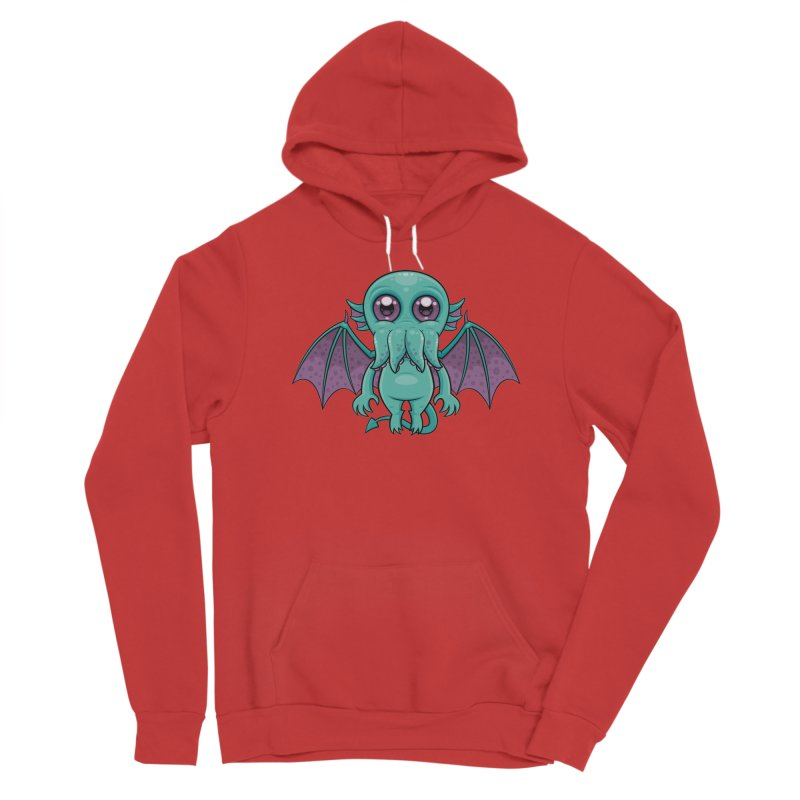 Cute Baby Cthulhu Monster Men's Pullover Hoody by Fizzgig's Artist Shop