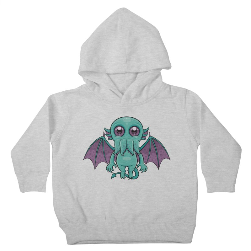 Cute Baby Cthulhu Monster Kids Toddler Pullover Hoody by Fizzgig's Artist Shop