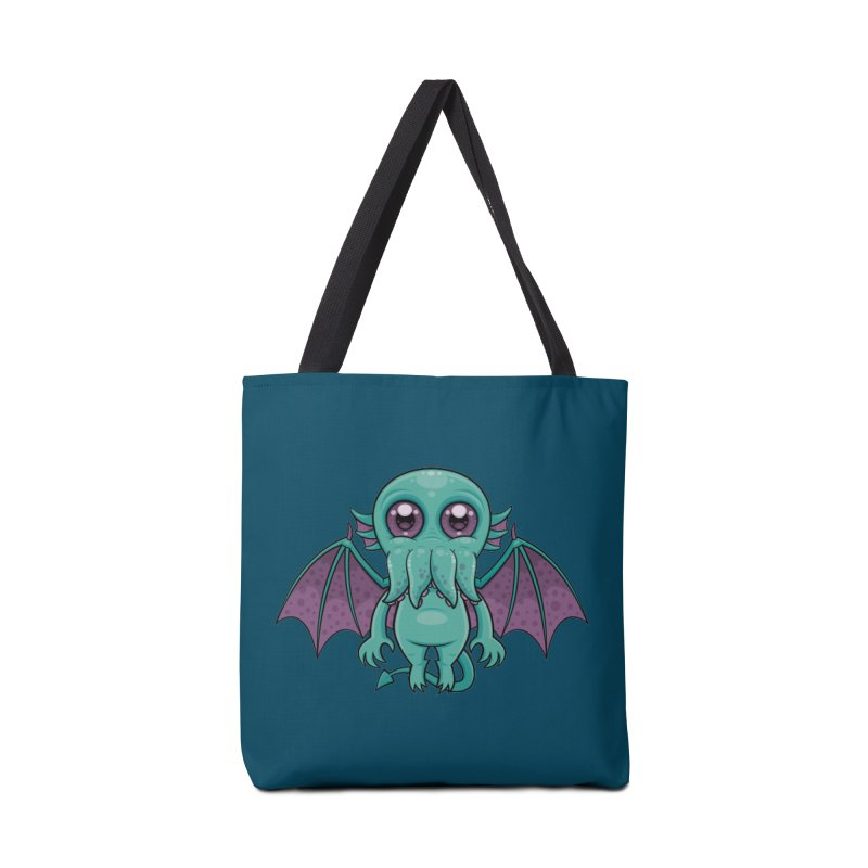 Cute Baby Cthulhu Monster Accessories Bag by Fizzgig's Artist Shop