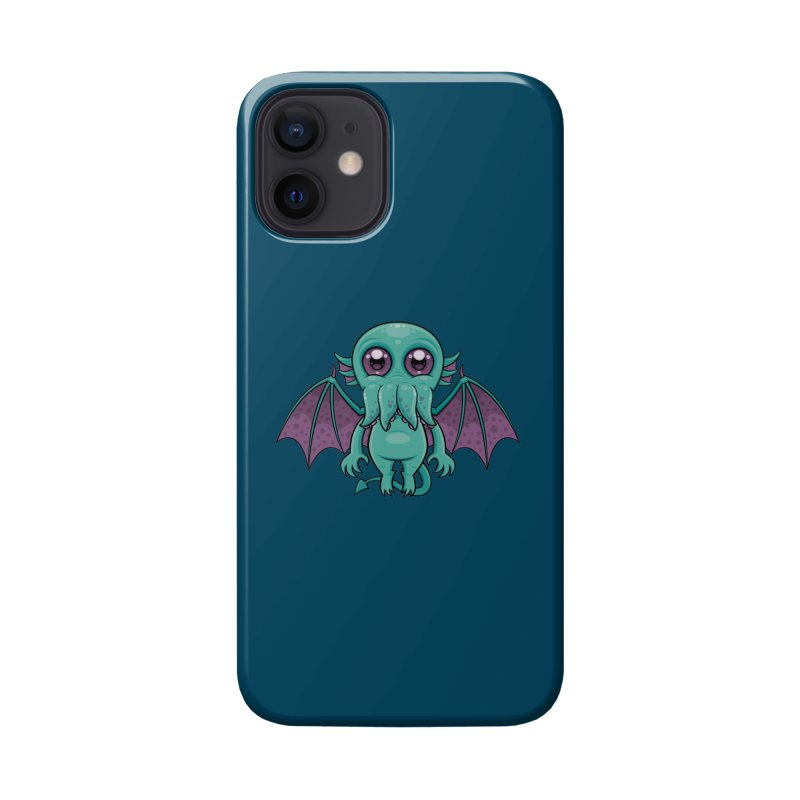 Cute Baby Cthulhu Monster Accessories Phone Case by Fizzgig's Artist Shop