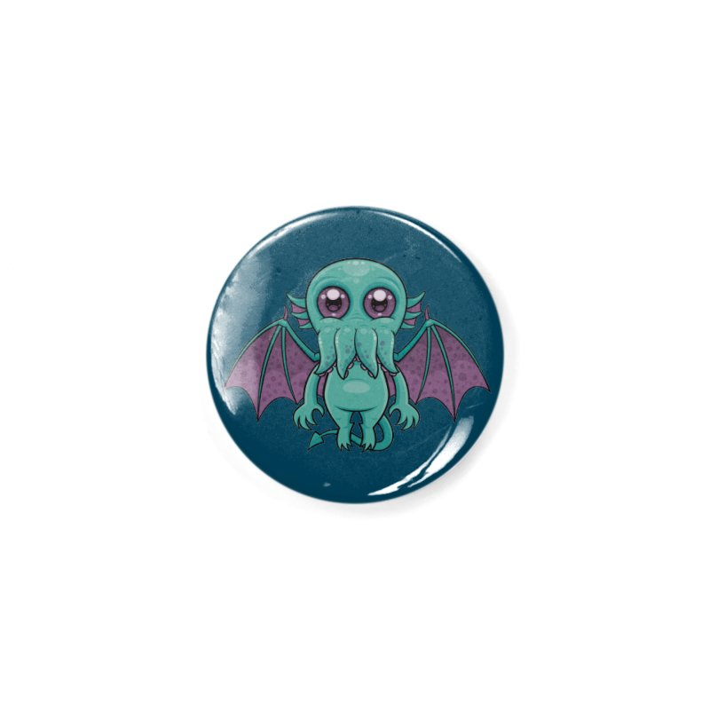 Cute Baby Cthulhu Monster Accessories Button by Fizzgig's Artist Shop