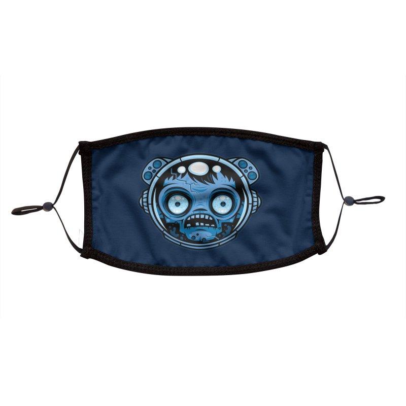 Zombie Astronaut Accessories Face Mask by Fizzgig's Artist Shop