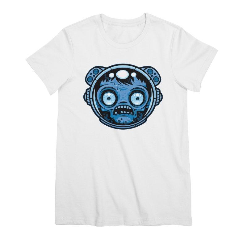 Zombie Astronaut Women's T-Shirt by Fizzgig's Artist Shop
