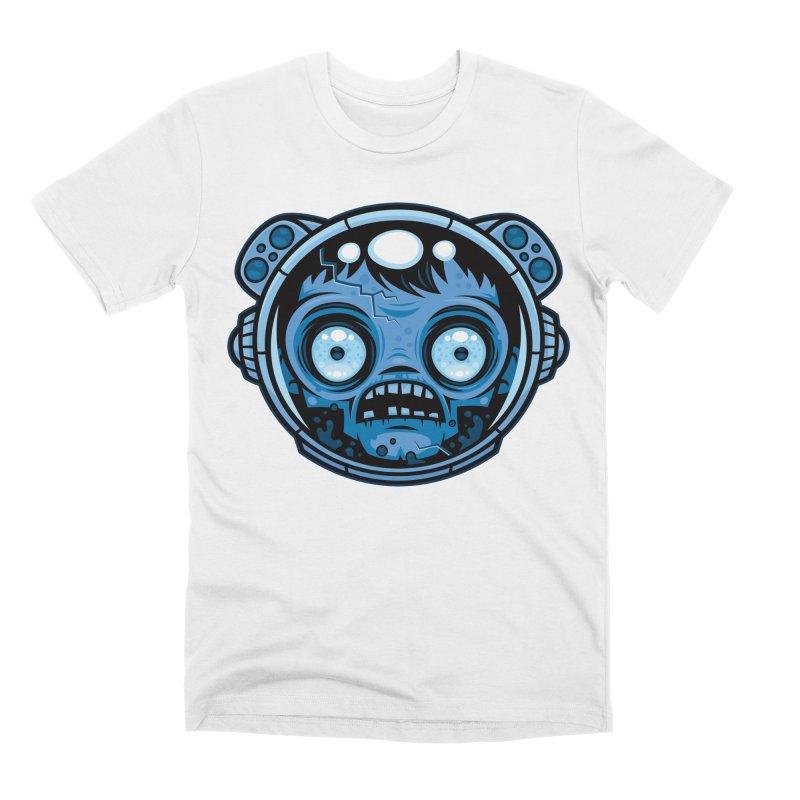 Zombie Astronaut Men's T-Shirt by Fizzgig's Artist Shop