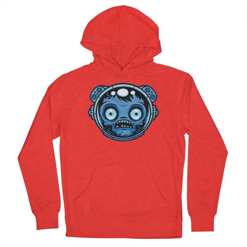 Zombie Astronaut Men's Pullover Hoody by Fizzgig's Artist Shop