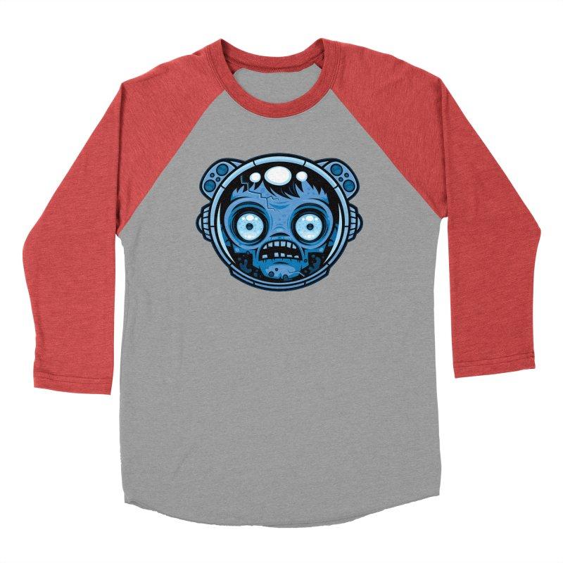 Zombie Astronaut Men's Longsleeve T-Shirt by Fizzgig's Artist Shop