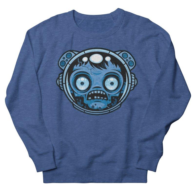 Zombie Astronaut Men's Sweatshirt by Fizzgig's Artist Shop
