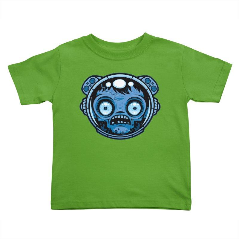 Zombie Astronaut Kids Toddler T-Shirt by Fizzgig's Artist Shop