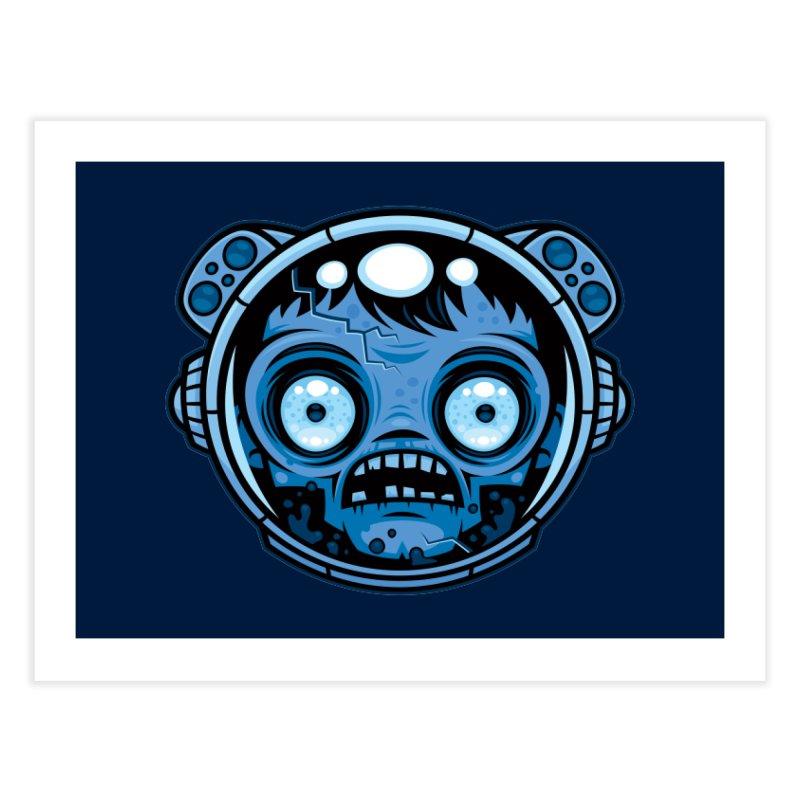 Zombie Astronaut Home Fine Art Print by Fizzgig's Artist Shop
